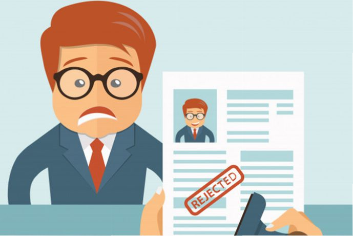 How to get over a job rejection? -