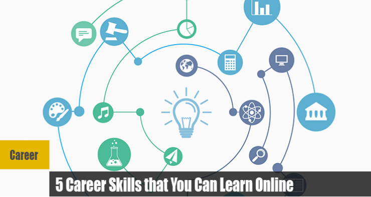5 Career Skills that you can learn online
