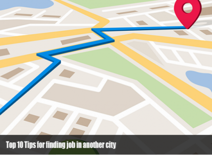 10 Tips for finding job in another city