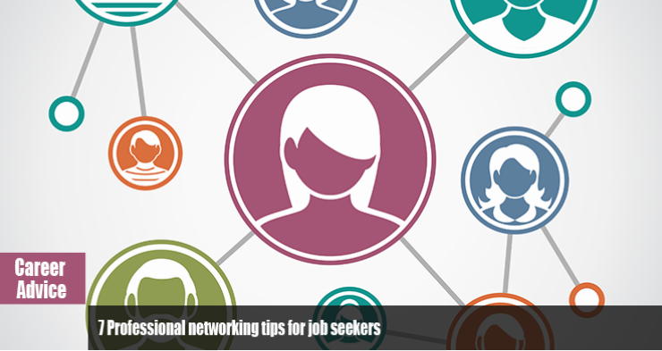 Professional networking tips for job seekers